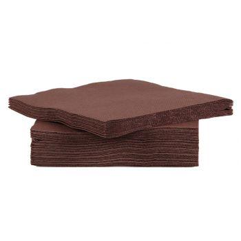 Cosy & Trendy For Professionals Ct Prof Serviette Tt S40 25x25cm Chocola