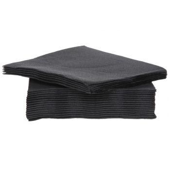 Cosy & Trendy For Professionals Ct Prof Serviette Tt S40 25x25cm Noir