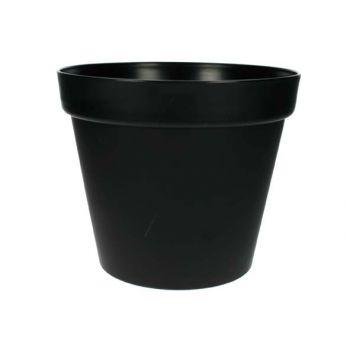 Cosy & Trendy Patio Elite Pot Noir Dia 26cm H22cm