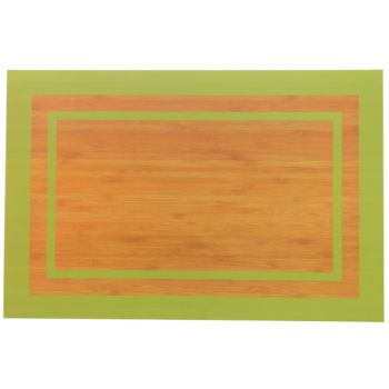 Cosy & Trendy Campo Green Placemat Recto-verso 45x30