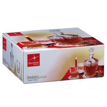 Bormioli Dedalo Set Whisky 7 Pieces