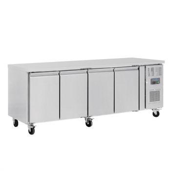 Table réfrigérée positive 4 portes 449L Polar Série U