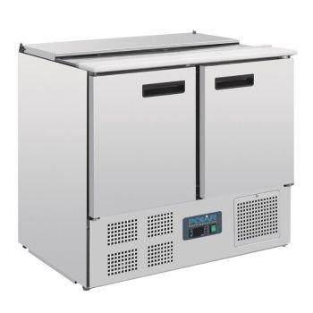 Comptoir à salade réfrigéré 240L Polar Série G