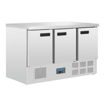 Table réfrigérée 3 portes 368L Polar Série G