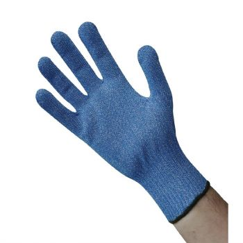 Gant anti-coupure bleu L