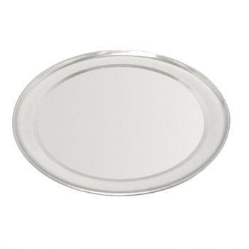 Plaque à pizza Vogue en aluminum bord large 25;5 cm