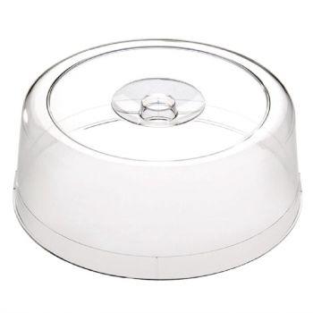 Couvercle pour plat à gâteau en plastique APS Pure