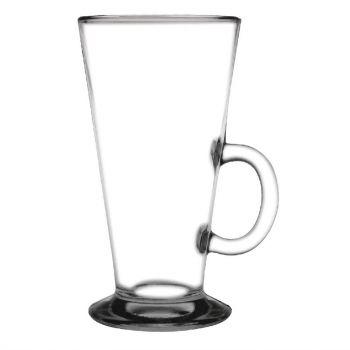 Verres boissons chaudes en verre trempé Olympia