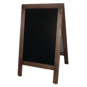 Panneau de trottoir Olympia cadre en bois 1200 x 700mm