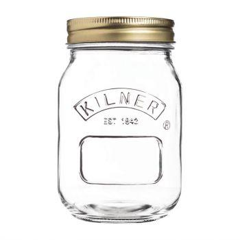 Bocal à conserves couvercle vis Kilner 500ml