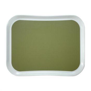 Plateau en polyester Century Fun Cambro Versa Lite 430mm vert sauge