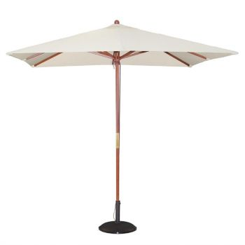 Parasol carré Bolero 2;5m écru