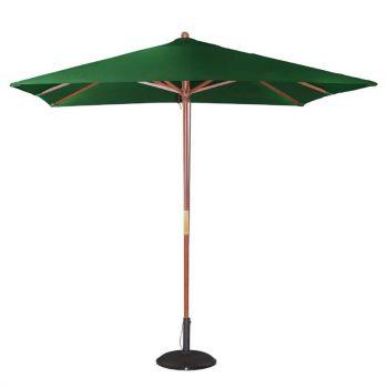 Parasol carré Bolero 2;5m vert