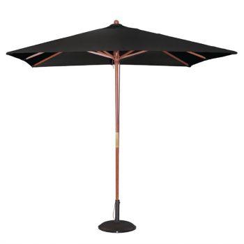 Parasol carré Bolero 2;5m noir