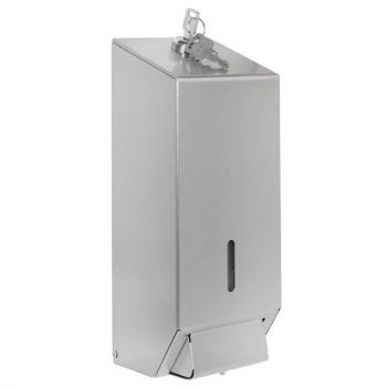 Distributeur de savon liquide en acier inoxydable Jantex