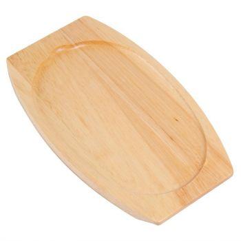Support en bois clair pour plat GJ557 Olympia