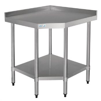 Table d'angle inox Vogue 700mm