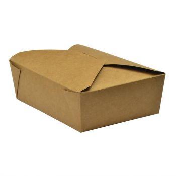 Cartons alimentaires compostables No5 Vegware 1;05L