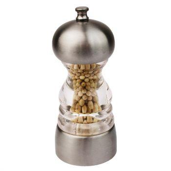 Moulin à sel et poivre en inox Olympia 135x55mm
