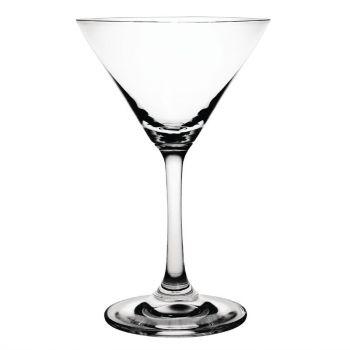 Verres à cocktail Martini en cristal Olympia 160ml lot de 6