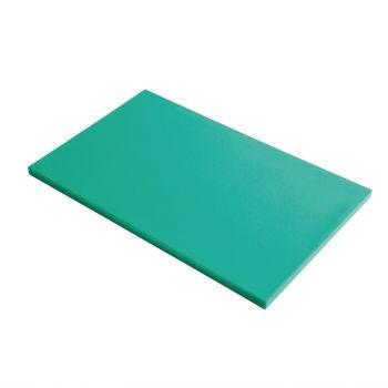 Planche à découper GN1/2 en polyéthylène haute densité Gastro M  verte