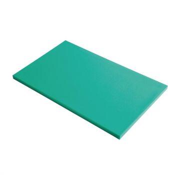 Planche à découper GN1/1 en polyéthylène haute densité Gastro M  verte
