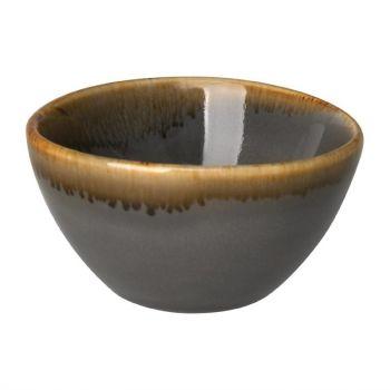 Pots à sauce ronds Olympia Kiln gris 70mm