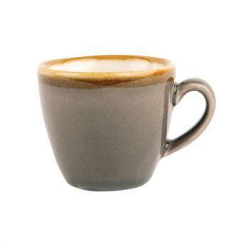 Tasse à espresso Olympia Kiln grise 85ml