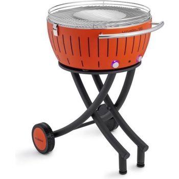 LotusGrill XXL 552204 Le Barbecue à charbon de bois sans fumée Orange