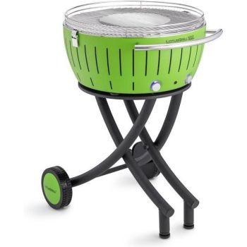 LotusGrill XXL 552205 Le Barbecue à charbon de bois sans fumée Vert