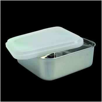 Kitchen boîte à conserver carrée avec couvercle en plastique 65030 11,5cm