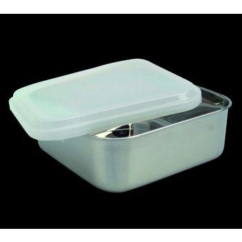 Kitchen boîte à conserver carrée avec couvercle en plastique 65031 13,5cm