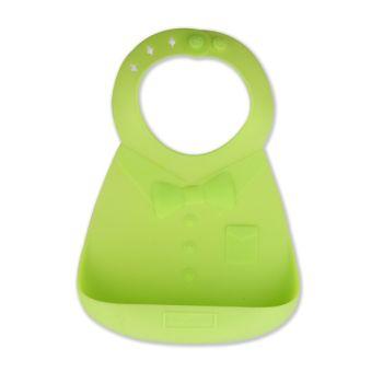 Make My Day Bavette En Silicone Vert