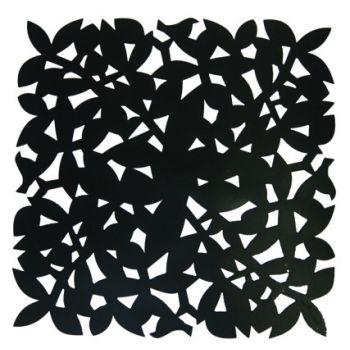 Make My Day dessous-de-plat noir 31,5x31,5cmx1,5mm MMD-STP01-BK