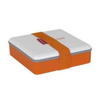 Omami boîte à lunch orange 15x15x4,6cm