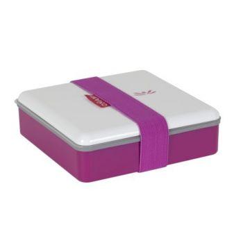 Omami boîte à lunch rose 15x15x4,6cm