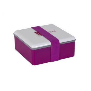 Omami boîte à lunch rose 15x15x6,7cm