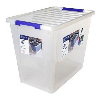 Sistema Storage Boîte à Ranger Avec Couvercle 40 Litres 322mm