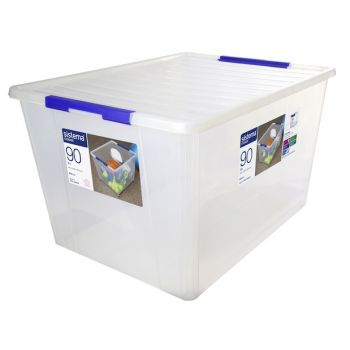 Sistema Storage Boîte à Ranger Avec Couvercle 90 Litres 494mm