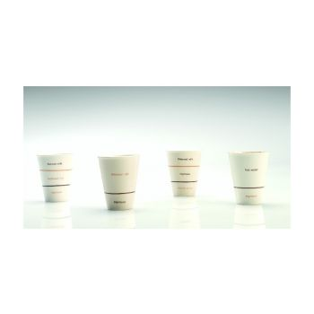 Thai Ceramic SNMZ001 Gobelet Petit 'Caffe Americano'