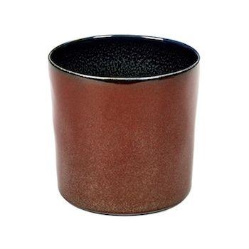 Anita Le Grelle Terres De Rêves B5116109 Gobelet Cylindre Rust/Dark Blue Haut