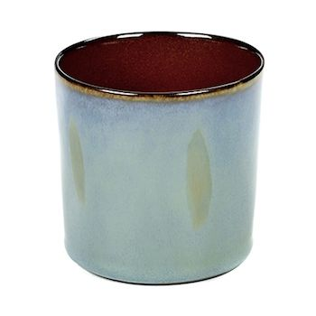 Anita Le Grelle Terres De Rêves B5116112 Gobelet Cylindre Smokey Blue/Rust Haut