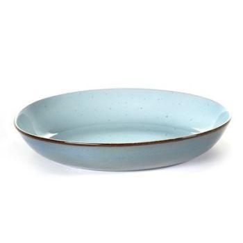 Anita Le Grelle B5116180 Terres De Rêves Assiette à pâtes D23,5cm Light Blue/Smokey Blue