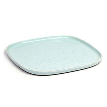 Anita Le Grelle B5116195 Terres De Rêves Assiette carré D25,4cm Light Blue