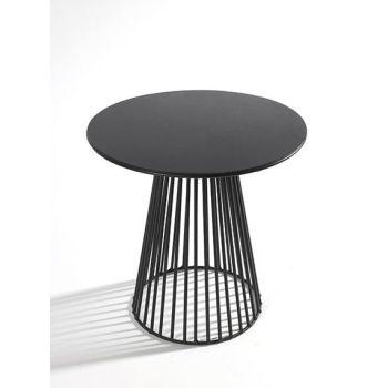 Antonino Sciortino B7210170 Serax Bistrot Table Ronde GARBO40 D40 Noir