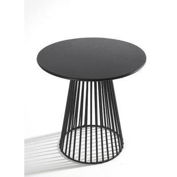Antonino Sciortino B7210171 Serax Bistrot Table Ronde GARBO50 D50 Noir