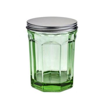 Paola Navone Fish&Fish B0816763 Pot Avec Couvercle Medium Transparent Vert 100CL