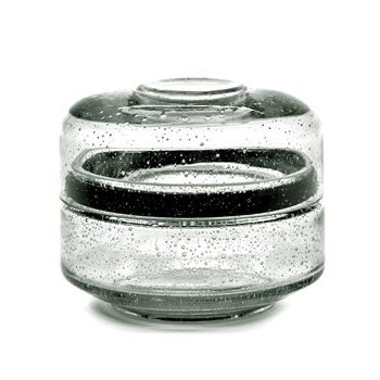 Pascale Naessens PURE B0818127 Storage pot with lid Glass Small