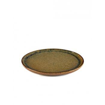 Sergio Herman B5116201B Surface Assiette Dessert Indi Grey D21cm