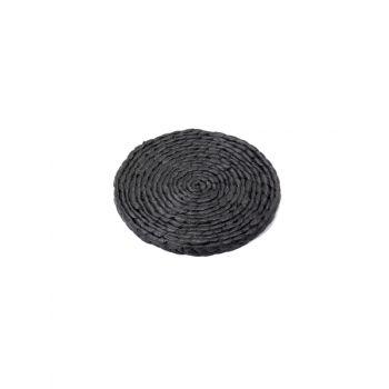 Sergio Herman B7217055 Surface Black Hyacint Dessous De Plat Small D20